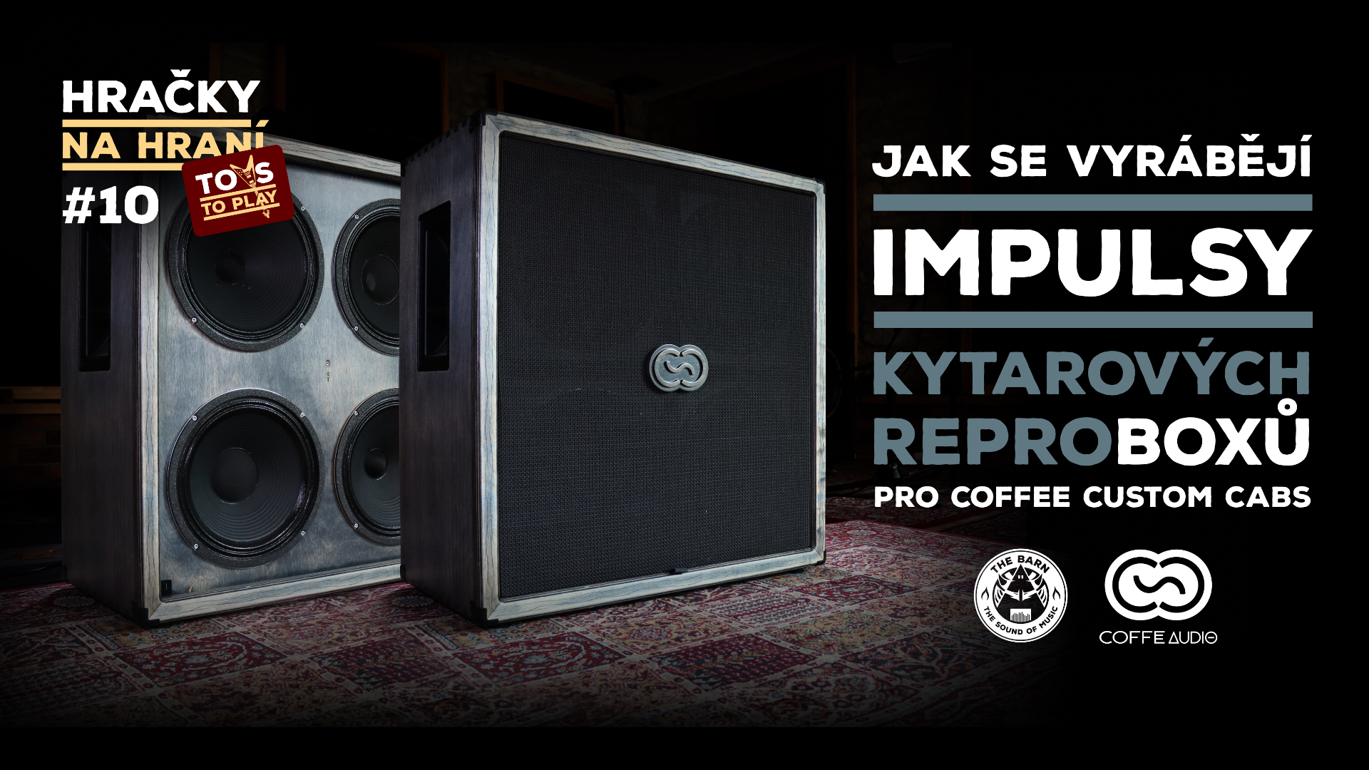 Toys to Play #10 - Creation of impulse responses (IR) of Coffee Custom Cabs LUNGO 4x12